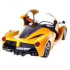 Ferrari Remote Control Car - 8801E - Yellow