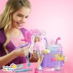 Barbie™ Hairtastic Color And Wash Salon Playset