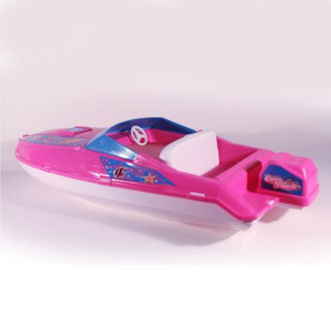 barbie speed boat 2