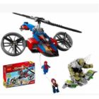 Super Heroes Spiderman Helicopter Rescue - DECOOL 7106